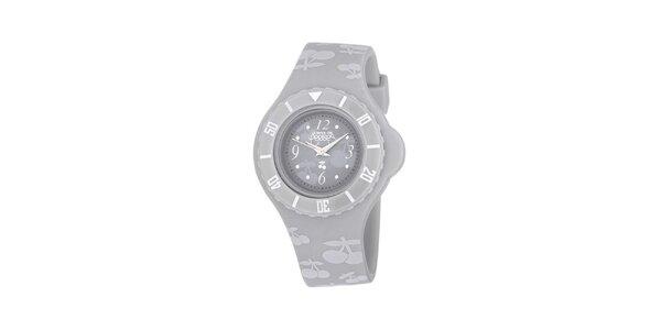 Dámske šedé analogové hodinky Le Temps des Cerises