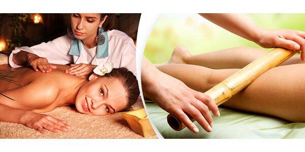 Bambusová alebo havajská masáž