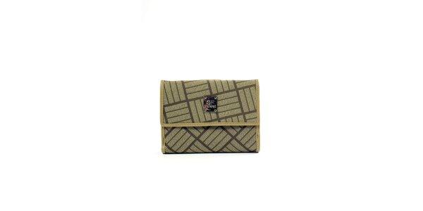 Dámska peňaženka v zelenkavej farbe Gianfranco Ferré