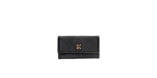 Dámska čierna peňaženka s oddeleniami Gianfranco Ferré