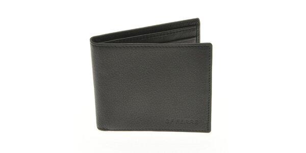 Pánska čierna kožená peňaženka Gianfranco Ferré