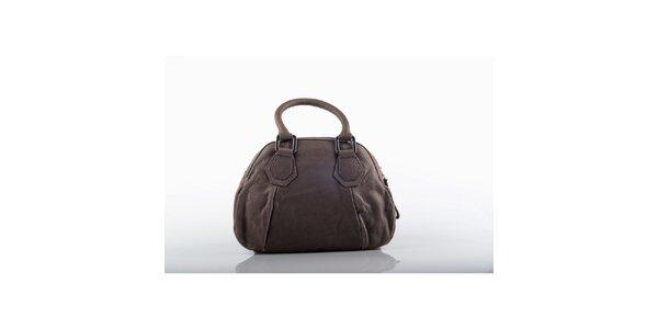 Dámska kožená kabelka v hnedej farbe Gianfranco Ferré