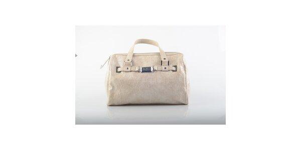 Dámska béžová kabelka Versace