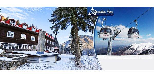 Pobyt pre lyžiarov vo Vrátnej Doline