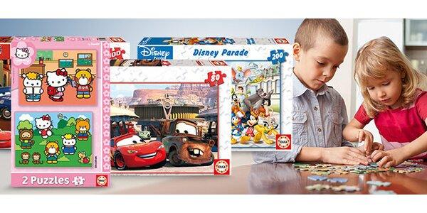 Disney puzzle na výber 4 druhy