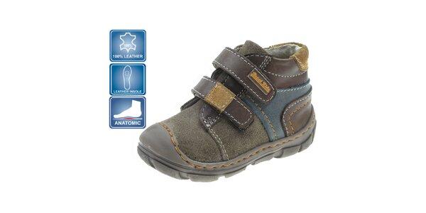 Detské farebné členkové topánky Beppi