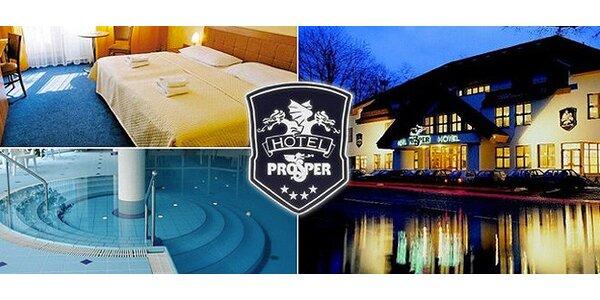Pobyt v luxusnom hoteli Prosper**** v českých Beskydách pre dvoch