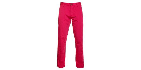 Pánske ružové chino nohavice Pietro Filipi