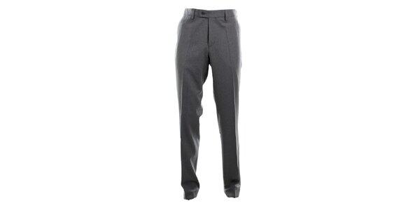Pánske šedé oblekové nohavice Pietro Filipi
