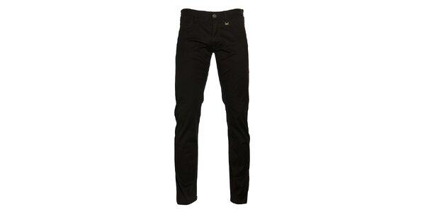 Pánské čierne nohavice Pietro Filipi