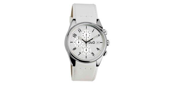 Dámske hodinky s koženým remienkom Dolce & Gabbana
