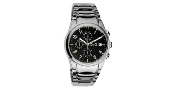 Pánske hodinky z ušľachtilej ocele Dolce & Gabbana