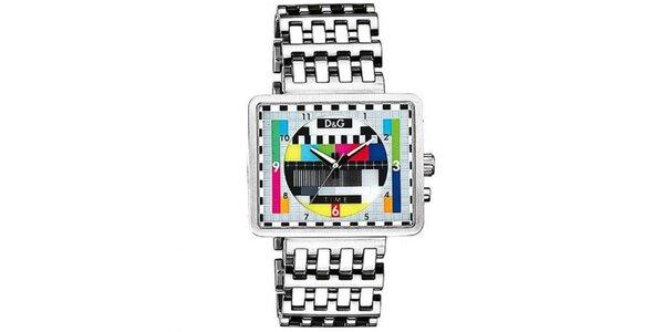 Pánske hodinky v televíznom retro štýle Dolce & Gabbana