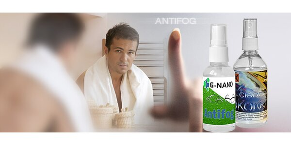 Antifog-protizahmlievací prostriedok