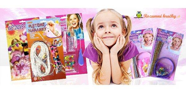 Set kreatívnych hračiek pre dievčatká