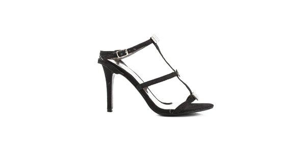 Dámska remienková obuv s kamienkami Paolo Santini