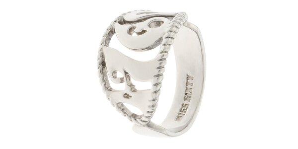 Dámsky prsteň s atypickým vzorom Miss Sixty