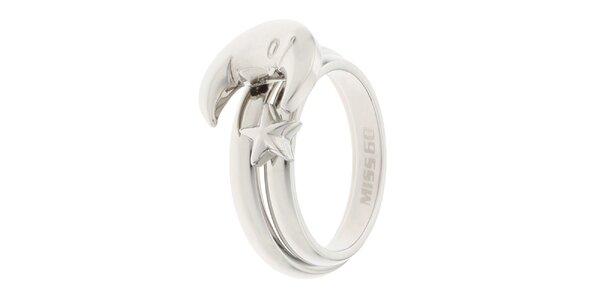 Dámsky prsteň s motívom mesiaca Miss Sixty
