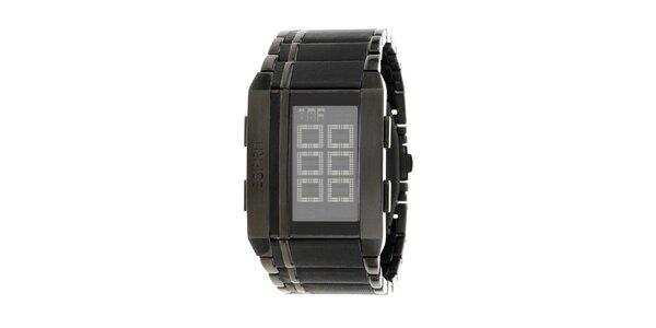 Unisexové čierne digitálne hodinky Esprit