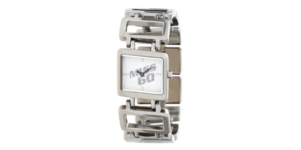 Dámske strieborné náramkové hodinky Miss Sixty