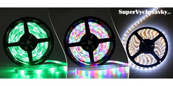 Úsporný farebný LED pás