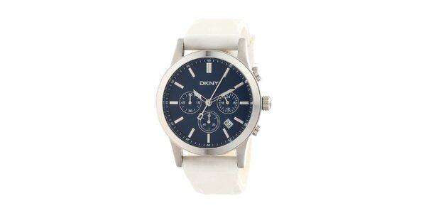 Pánske biele hodinky DKNY