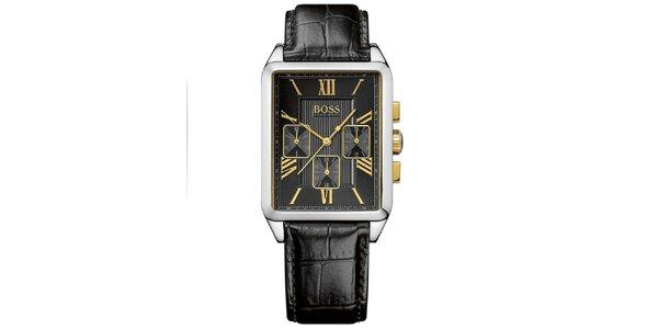Pánske hranaté hodinky s chronografom Hugo Boss Orange
