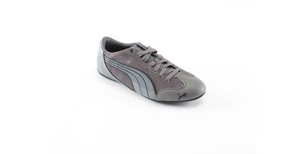 Dámske šedé tenisky Puma
