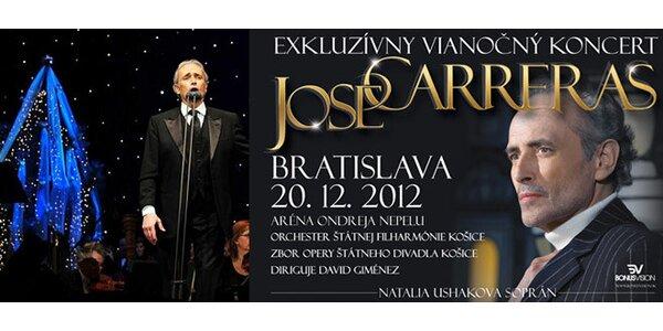 Exkluzívny vianočný koncert José Carrerasa