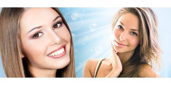 Kyslíkové ošetrenie tváre a dekoltu