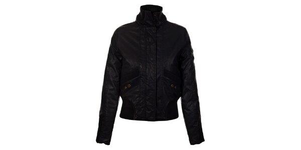 Dámska čierna zimná bunda Gas