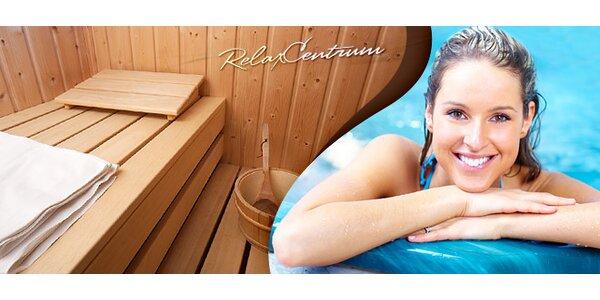 Vstup do sauny (2 hod.) a vírivka (45min) v Relax Centre ICE FIT