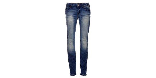 Dámske modré džínsy Exe Jeans