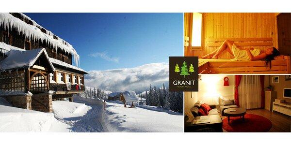 Zimný oddych v Horskom Hoteli Granit**