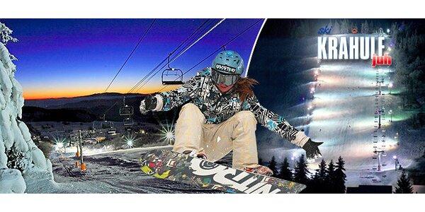 Večerný skipas v Lyžiarskom stredisku Ski Krahule