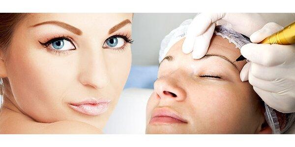 Permanentný make-up obočia