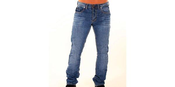 Pánske modré džínsy New Caro