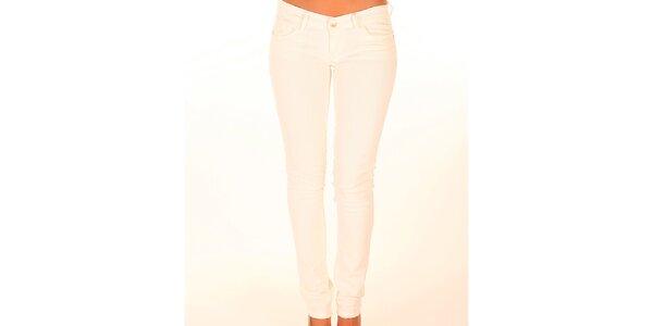 Dámske biele džínsy New Caro