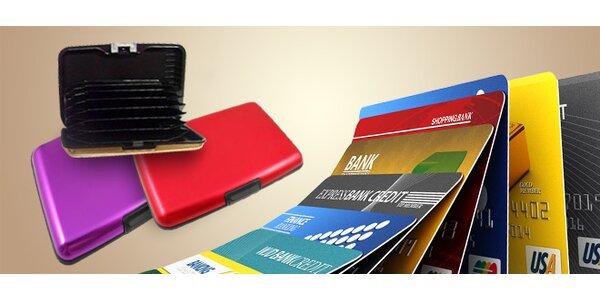 Puzdro na kreditné karty
