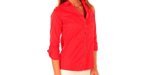 Dámska červená košeľa New Caro