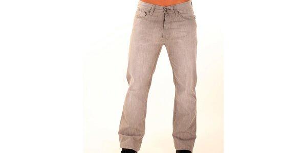 Pánske šedé džínsy New Caro