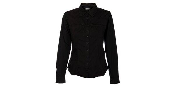 Dámska čierna košeľa Timeout