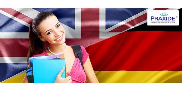 Kurzy angličtiny a nemčiny