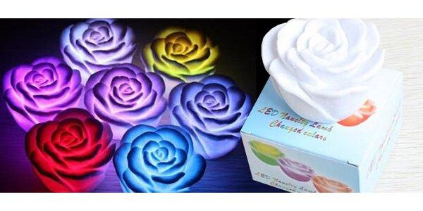 Svetlomeniaca LED ruža
