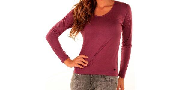 Dámske ružové tričko Trussardi