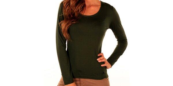 Dámske zelené tričko Trussardi