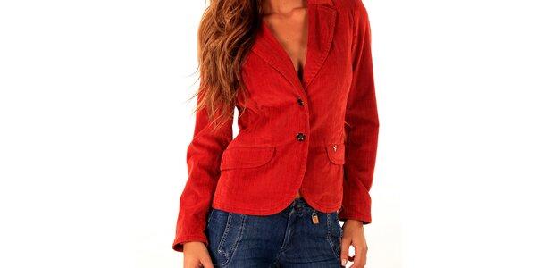 Dámske červené sako Trussardi