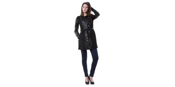 Dámsky čierny kabát Yes!Miss