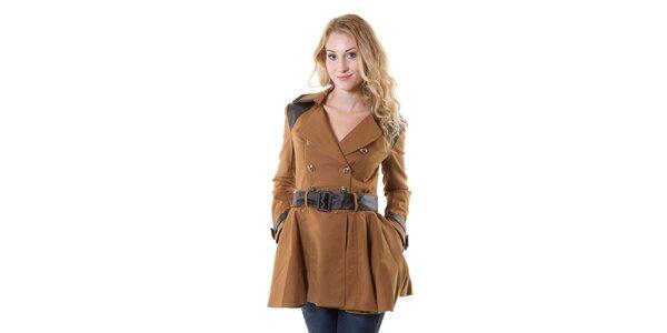 Dámsky béžový kabát Yes!Miss