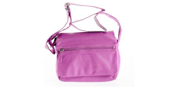 Dámska ružová kabelka Benetton